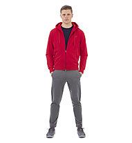 Get Fit Long Pant Open M - Fitnesshose Lang - Herren, Grey
