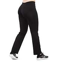 Get Fit Long Pant Tec W - Fitnesshose Lang - Damen, Black