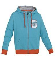 Get Fit Sweatshirt-Kapuzenjacke Kinder, Azur