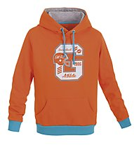 Get Fit Felpa con cappuccio, Orange