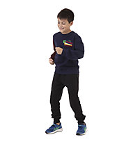 Get Fit LS Patch - felpa - bambino, Blue/Red