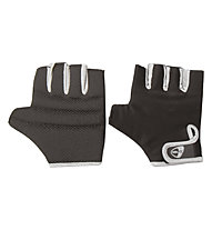 Get Fit Lycra Weight Lifting Glove - Guanti, Black/Silver
