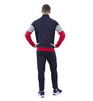 Get Fit Man Suit Color Block - Trainingsanzug - Herren, Blue/Grey/Red