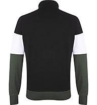 Get Fit Man Suit Color Block - tuta sportiva - uomo, Black/White