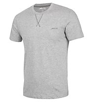 Get Fit Man T-Shirt Short Sleeve Trainingsshirt Herren, Grey Melange