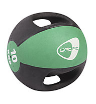 Get Fit Medicine ball 10KG, Black/Green