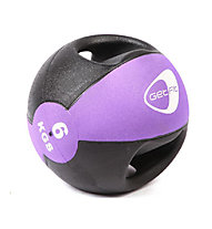 Get Fit Medizin Ball 6 kg, Black/Lilac
