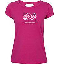 Get Fit Natalie - t-shirt fitness - donna, Pink