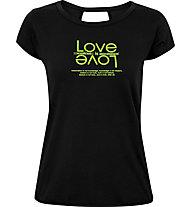 Get Fit Natalie - t-shirt fitness - donna, Black