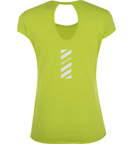 Get Fit Natalie - t-shirt fitness - donna, Yellow