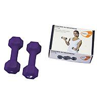 Get Fit Neoprene Hanteln 0,5 - 5 kg, Violet
