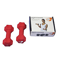 Get Fit Neoprene Hanteln 0,5 - 5 kg, Red