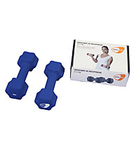 Get Fit Neoprene Hanteln 0,5 - 5 kg, Blue