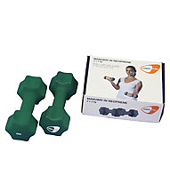 Get Fit Neoprene Hanteln 0,5 - 5 kg, Dark Green