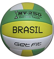 Get Fit Pallone Beach Volley, Green/Yellow/White