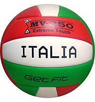 Get Fit Pallone Beach Volley, White/Red/Green