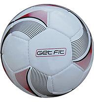 Get Fit Pallone Calcio, White/Black/Red