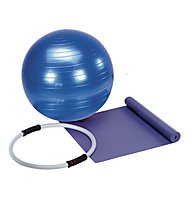 Get Fit Pilates Starter Set - Palla fitness, Blue/Purple