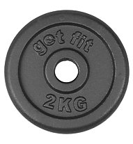 Get Fit Hantelscheiben 1- 20 kg, 2 kg