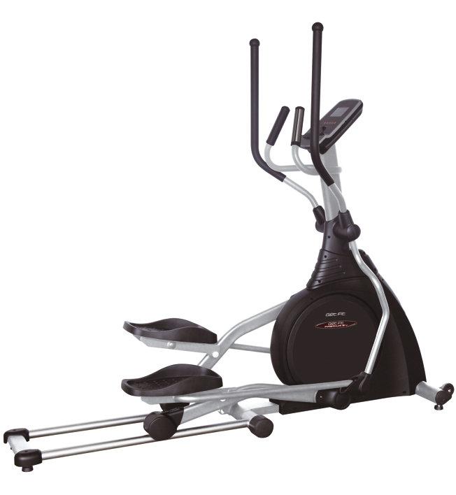 Get Fit Premium E4 - Crosstrainer, Black/Grey