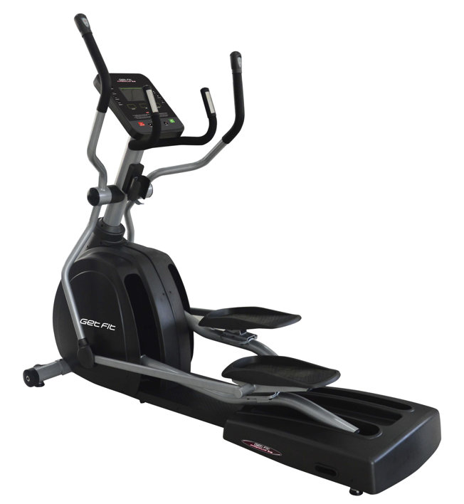 Get Fit Premium E6 - Crosstrainer, Black/Grey