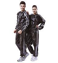 Get Fit PVC Sauna Suit, Grey