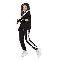 Get Fit Rib Bottom F - Trainingshose lang - Mädchen, Black