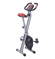 Get Fit Ride F192 - cyclette, Black/Red