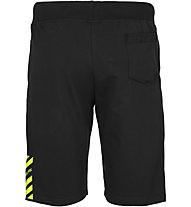 Get Fit Roger - pantaloni corti fitness - uomo, Black