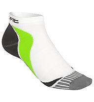 Get Fit Running Low - calzini corti running, White/Grey/Green