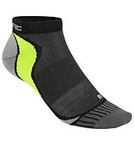 Get Fit Running Low - calzini corti running, Black/Grey/Green