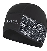 Get Fit Running Reflective - berretto running, Black/Grey