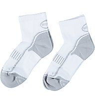 Get Fit Running Socks Bi-Pack - calzini running 2 paia, White/Grey