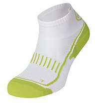 Get Fit Running Socks Bi-Pack - calzini running 2 paia, Flash Green/Black-White
