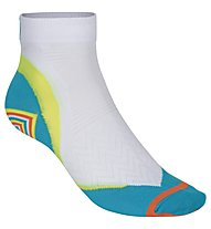 Get Fit Running Tech Socks - Kurze Laufsocken Damen, White/Blue