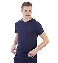 Get Fit Shirt Short Sleeve M - Fitness Shirt - Herren, Blue