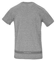 Get Fit Shirt Short Sleeve M - Fitness Shirt - Herren, Grey