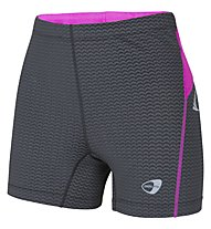 Get Fit Pantaloncini running donna, Black/Pink