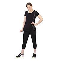 Get Fit Short Sleeve Over - Fitness Shirt - Damen, Black