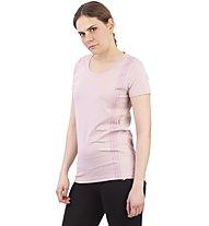 Get Fit Short Sleeve Over - Fitness Shirt - Damen, Pink