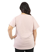 Get Fit Plus Short Sleeve Plus - Fitnessshirt - Damen, Rose