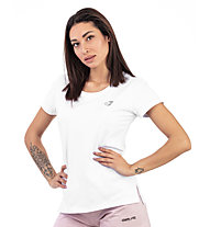 Get Fit Short Sleeve W - T-shirt fitness - donna, White