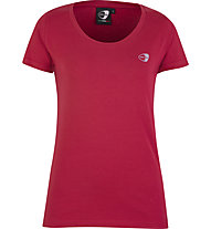 Get Fit Short Sleeve W - T-shirt fitness - donna, Red