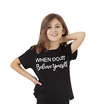 Get Fit SS Insert - T-Shirt - Mädchen, Black