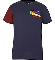 Get Fit SS Patch - T-shirt - bambino, Blue/Red