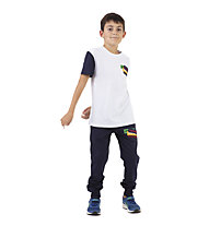 Get Fit SS Patch - T-shirt - bambino, White/Blue