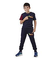 Get Fit SS Patch - T-Shirt - Jungen, Blue/Red