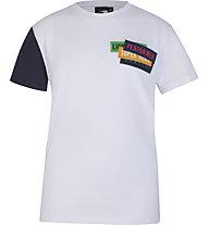 Get Fit SS Patch - T-Shirt - Jungen, White/Blue