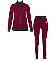 Get Fit Suit Full Zip Legging - Trainingsanzug - Damen, Blue/Red/White