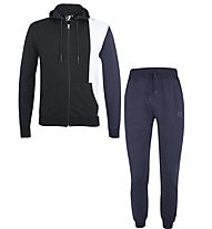 Get Fit Woody CB Premium - tuta sportiva - uomo, Black/Blue/White